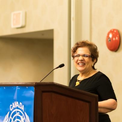 Senator Mobina Jaffer.